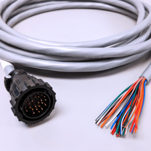 i/o cable unconnected wires