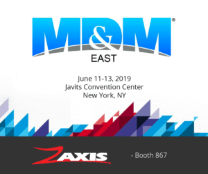 MD&M East 2019 Zaxis booth 867