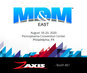 Zaxis at MDM East 2020 Booth 861