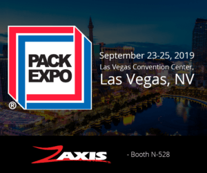 Pack Expo Las Vegas Zaxis Booth N528