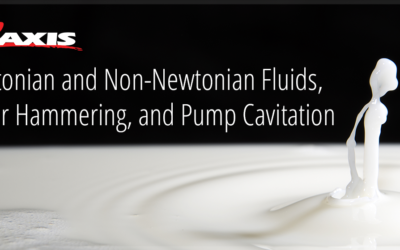 Water Hammering, and Cavitation in Pumps