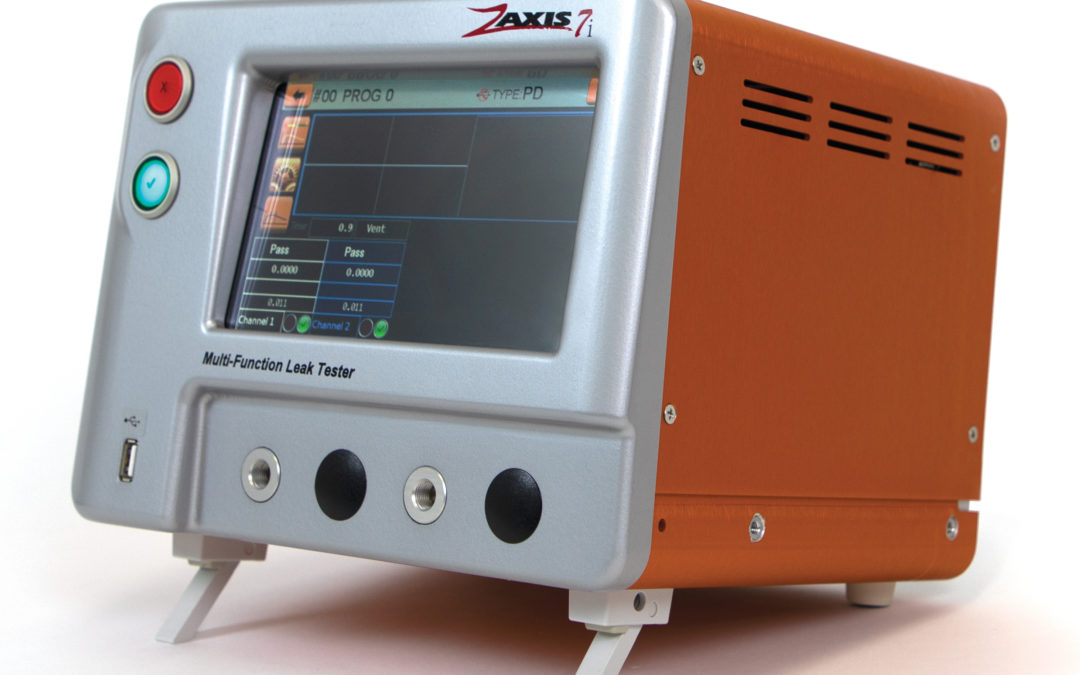 Press Release: Zaxis 7i – Large Display Leak Tester